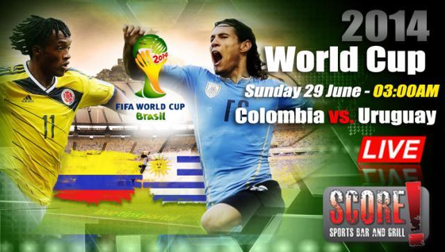 Colombia Vs Uruguay: Colombia Vs. Uruguay @Score